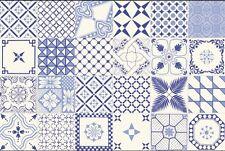 Cer. Vietri Patchwork Piastrelle 20x20 Serigraf a Mano I Scelta. 0,96 Mq.(24pz.)