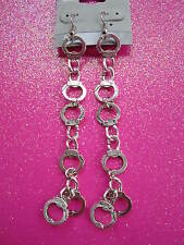 HAND CUFF EARRINGS 3 1/4 INCHES LONG