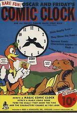 Oscar & Fridays Magic Comic Clock Fawcett Funnies Comic Book NR Mint Nos