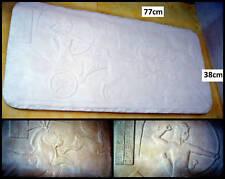 bas relief en platre armé, tableau de chasse egyptienne