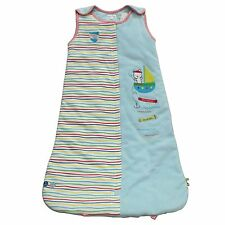 Pitter Patter Snuggle Bag Blue Captain Cute (6-12 Months) 1 TOG - BRAND NEW