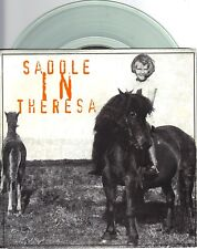 Saddle In Theresa - Brown Bag - 1994 Redemption 7 Inch CLEAR Vinyl Record NEW