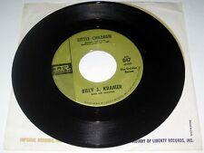 45 RPM Billy J. Kramer BAD TO ME / LITTLE CHILDREN Imperial