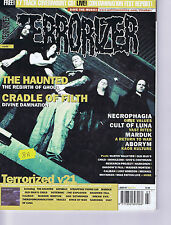 THE HAUNTED / CRADLE OF FILTH	Terrorizer	No.	107	March	2003