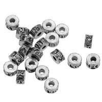 Metal Spacer Beads Charms Jewelry Findings Jewelry Making DIY, 20Pcs Per Bag