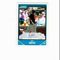 2007 Bowman Chrome Draft Refractor Joey Votto Rookie Card Cincinnati Reds 1b RC
