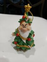 Grolier Ornament Grumpy Christmas Tree Snow White Seven Dwarfs Porcelain