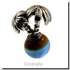 Authentic Trollbeads Glass 61725 Palm Island :1