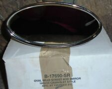 NEW n the Box Oval Head Street Rod Mirror 1932-1934 Cabriolet Style Vintique Inc