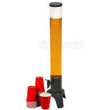 Beer Tower Drink Dispenser Cocktails Party Soft Drink Water 3 Ltr Jug Table Top