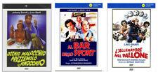 3 DVD LINO BANFI - Occhio Malocchio Prezzemolo, Al bar dello sport L'allenatore