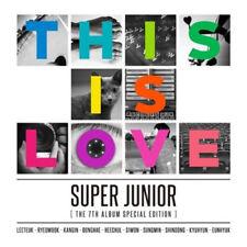 SUPER JUNIOR [THIS IS LOVE] 7th Album Special Edition Random Cover CD+Photobook