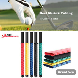 """X-Tube Heat Shrink Wrap Tubing 39""""&64"""" Lengths For Rod Grips - 5 Color 14 Sizes"""