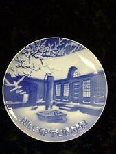 "Bing & Grondahl /B&G 1942 WWII era   Christmas Plate "" Danish Farm  "" Free S&H"