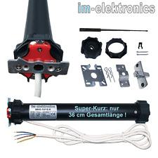 IM45 Profi Rohrmotor Rolladenmotor 10 Nm SW 60 extra kurz nur 36 cm Gesamtlänge!