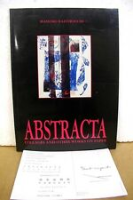 Abstracta collages & other works on paper by Massimo Baistrocchi 1991