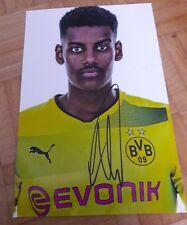 Signiertes Foto Alexander Isak Borussia Dortmund  NEU 20x30cm