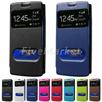 Window Leather Case Flip Cover For Sony Ericsson Xperia Arc S LT18i X12 LT15i