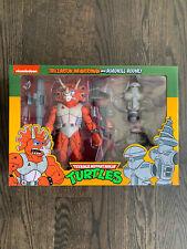 NECA Teenage Mutant Ninja Turtles | Triceraton + Roadkill Rodney | TMNT