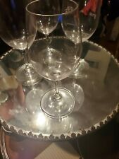 4 Riedel Overture Crystal Dishwasher White Wine Glasses, approx 10oz