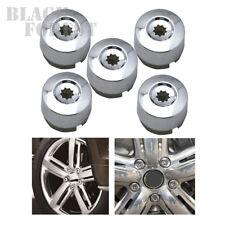 For VW 2004-2014 Touareg #7L6601173A  Chrome Wheel Bolt Cover Caps 5 pcs