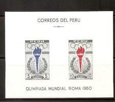 Peru SC # C173a Olympics 1960 Rome . MNH