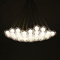 Glass ball Bubble LED Pendant Lamp Chandelier Ceiling Light Fixture New Modern