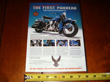 1948 HARLEY DAVIDSON PAN HEAD FRANKLIN MINT - ORIGINAL 1998 AD