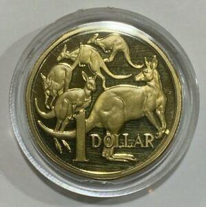 1984 Australia 1 Dollar Coin RAM Proof