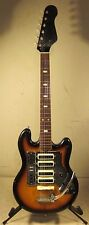 Vintage 1964 Kent Guyatone 533 Videocaster Electric Guitar Japan