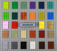 LEGO - 1x2 Tiles - PICK YOUR COLORS - Finishing Plate Smooth Flat Solid Bulk Lot