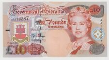 More details for gibraltar 10 pounds dated 1995 p26a uncirculated unc