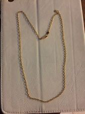 "GURHAN 24K 18"" GOLD CABLE CHAIN NECKLACE"