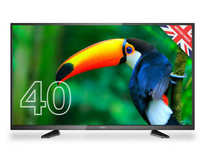 """CELLO 40"""" INCH FULL HD LED TV FREEVIEW HD, 3 x HDMI & USB. MADE IN UK"""