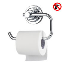 No drill!!! Vacuum Suction Cup Toilet Paper Roll Holder for Bathroom Kitchen