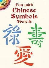 Fun with Chinese Symbols Stencils by Marty Noble (Paperback, 2001)