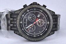 Black Metal Joe Rodeo Glory Diamond Watch 448 Diamonds watch. 4.50 Ct. JGL 43