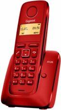 Siemens Gigaset A120 Teléfono inalámbrico DECT pantalla 1.4 50 contacto Agenda