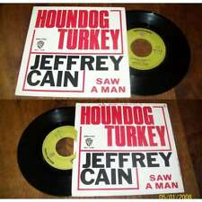 JEFFREY CAIN - Houndog Turkey Rare French PS 7' Psych Folk 70' NM