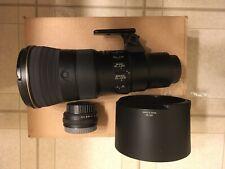 Nikon 500mm f5.6e Pf Ed Vr with Nikon tc-14e3 teleconverter