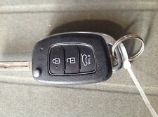 Hyundai 3 BUTTON REMOTE flip alarm   CAR KEY  Fob