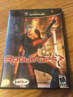 Rogue Ops Nintendo GameCube Game Complete Cib Works G1