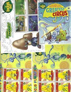 Palau sc#469,474 #470 x2 (1998)  Souvenir Sheets MNH