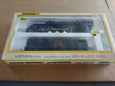 Vtg Bachmann HO Northern 4-8-4 Train And Tender
