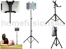 TABLET TRIPOD STAND ADJUSTABLE FOR IPAD1 2 3 4 AIR MINI SAMSUNG GALAXY NOTE 10.1