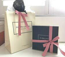 JO MALONE GIFT WRAP Set~Storage/Display Box+Shopping Bag+Ribbon Bow+Tissue Paper