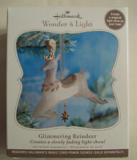 Hallmark Wonder & Light GLIMMERING REINDEER ** New in Box