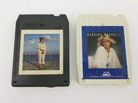 Country Music 8 Track Tapes Lot of 2 Crystal Gayle These Days & Barbara Mandrell