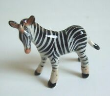 * High Quality Handmade Animal Miniature Ceramic Zebra Figurine*