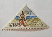 """Republic of Congo - """"Postal Runner"""" Postage Due stamp"""